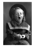 Small Boy in Sailor Outfit Wall Decal by Glen Walker