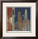 Urban Colors II Limited Edition Framed Print by M.J. Lew
