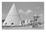 East and Sleep in a Wigwam Wall Decal by Marion Post Wolcott