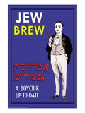 Jew Brew Beer Wall Decal