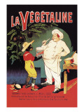 La Vegetaline Wall Decal by Eugene Oge