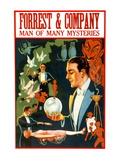 Forrest and Company: Man of Many Mysteries Wall Decal