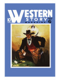 Western Story Magazine: Slick Jack Wall Decal