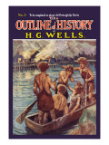 Outline of History by H.G. Wells, No. 3: Tragedy Wall Decal