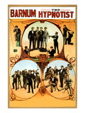 Barnum the Hypnotist Wall Decal