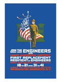 Join the Engineers Wall Decal by  Schutte