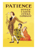 Patience: D'Oyly Carte Opera Company Wall Decal