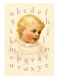 Blondie's Alphabet Wall Decal by Ida Waugh