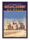 Outline of History by H.G. Wells, No. 13: Mosque Wall Decal