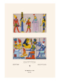 Egyptian Gods, Goddesses and Pharaohs Wall Decal by  Racinet