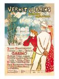 Vernet-les-Bains: Pyrenees Orientales, c.1896 Autocollant mural par Théophile Alexandre Steinlen