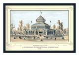 Arkansas Building, Centennial International Exhibition, 1876 Wall Decal by Thompson Westcott
