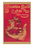 Gamble Gold Wall Decal by Harry Furniss