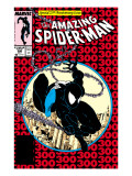 Amazing Spider-Man No.300 Cover: Spider-Man Fighting and Flying Prints by Todd McFarlane