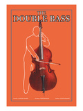The Double Bass Wall Decal