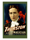 Thurston the Great Magician Wall Decal