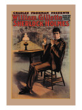 William Gillette as Sherlock Holmes Wall Decal