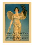 Share in the Victory Wall Decal by William Haskell Coffin