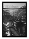 Carr Fork Canyon, as Seen from the G Bridge Wall Decal by Andreas Feininger