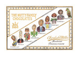 Nutty Family Chocolates Wall Decal