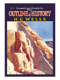 Outline of History by H.G. Wells, No. 5: Exploration Wall Decal