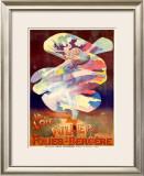 La Loie Fuller, Folies-Bergere Framed Giclee Print by  PAL (Jean de Paleologue)