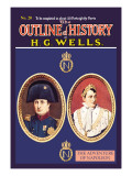 Outline of History by H.G. Wells, No. 20: The Adventure of Napoleon Wall Decal
