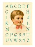 Big Boy's Alphabet Wall Decal by Ida Waugh