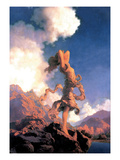 L'extase Sticker mural par Maxfield Parrish