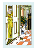 The Frog Prince, Greeting the Frog, c.1900 Wall Decal by Walter Crane