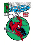 Amazing Spider-Man No.301 Cover: Spider-Man Swinging Poster by Todd McFarlane