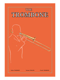 The Trombone Wall Decal
