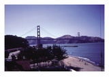 The Golden Gate Bridge Wall Decal by Rich Bourgerie