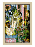 Aladdin, Princess Going For a Bath, c.1878 Wall Decal by Walter Crane