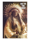 Ale to Then Chief Wall Decal