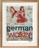German Walker Limited Edition Framed Print by M.J. Lew
