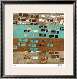 East West Limited Edition Framed Print by M.J. Lew