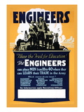 Blaze the Trail for Education, The Engineers Wall Decal
