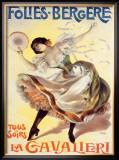 Folies-Bergere, La Cavalieri Framed Giclee Print by  PAL (Jean de Paleologue)