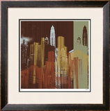 Urban Colors IV Limited Edition Framed Print by M.J. Lew