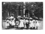 2nd Division Grade School Pupils Wall Decal by Frances Benjamin Johnston