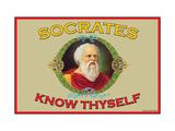 Know Thyself Lepicí obraz na stěnu