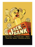 Jack In the Bank Wall Decal