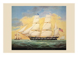 St. Mary's Entering the Harbour of Mobile Wall Decal by  Evans