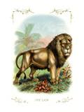 The Lion Wallsticker