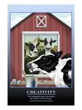 Creativity Wall Decal by Richard Kelly