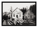 Home of Chief Ko-Teth Sha-Doc, Ketchikan, Alaska Wall Decal by Charles Clenton Page