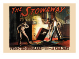 The Stowaway Wall Decal by Sherry Gakqueville