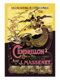 Cendrillon: Theatre National de l'Opera-Comique Wallsticker
