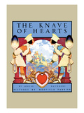 The Knave of Hearts Wall Decal by Maxfield Parrish